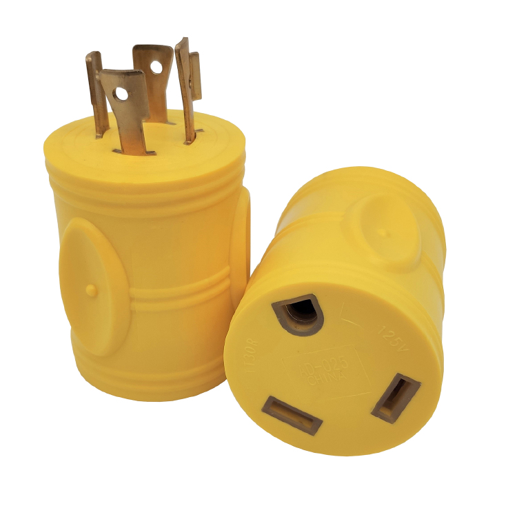 L14-20P to TT-30R Adapter Yellow