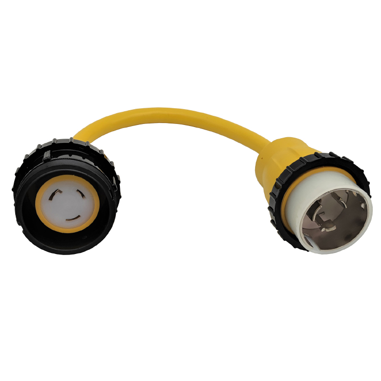 NEMA SS1-50P to L5-30R (Yellow)