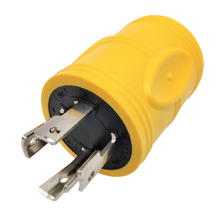 NEMA L14-30P to TT-30R Yellow