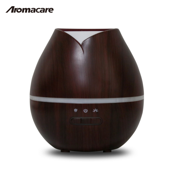 Ultrasonic Humidifier,Wood Grain Aroma Diffuser ,AirDiffuser