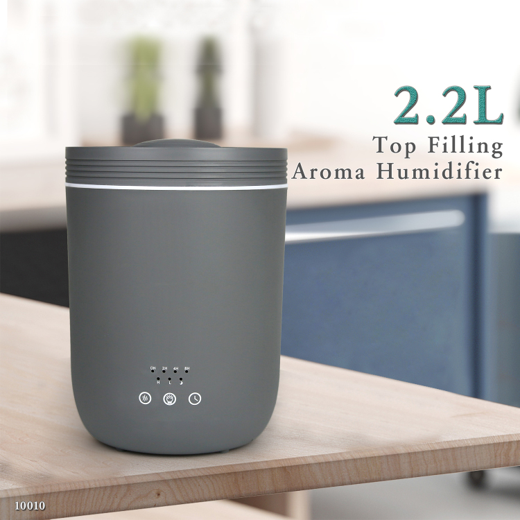 Portable Spray Misting Ultrasonic Humidifier Aroma Diffuser