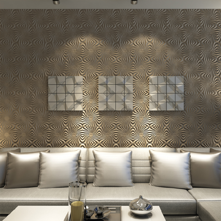 Apollo-Tufted Leather Wall Panels, Looks Like The Sun, Brings A Warm ...