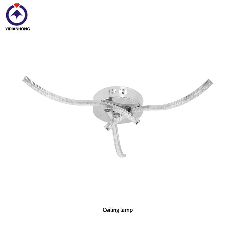 New round led ceiling lamp smart graceful line of beautiful