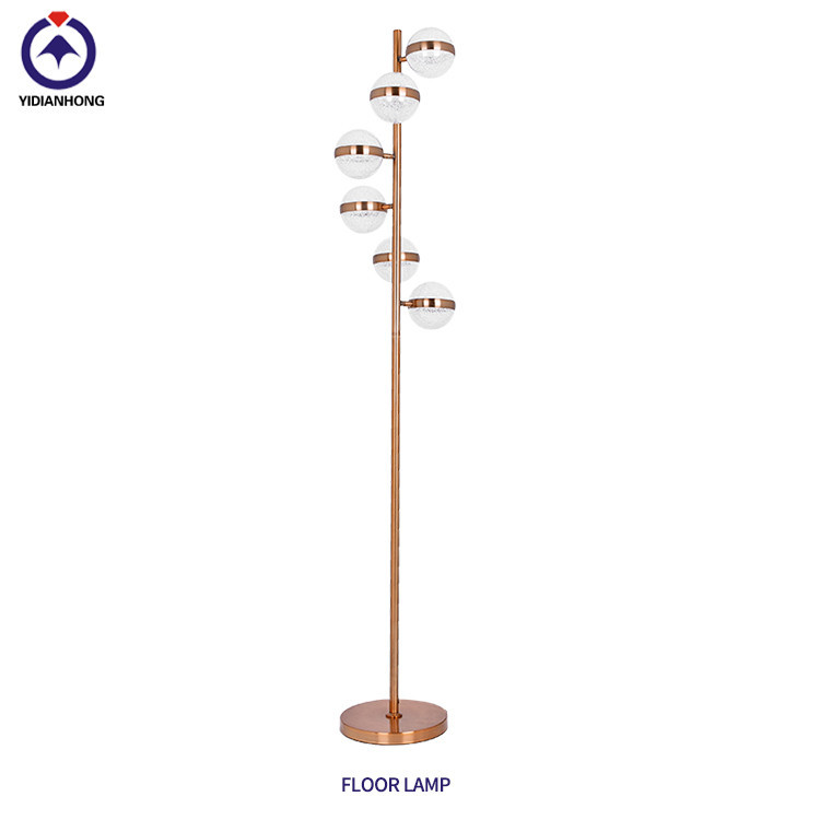 led modern floor lamp for living room