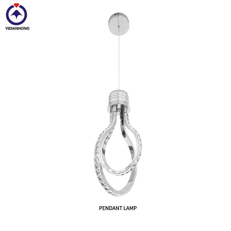 Led modern crystal Hanging pendant light