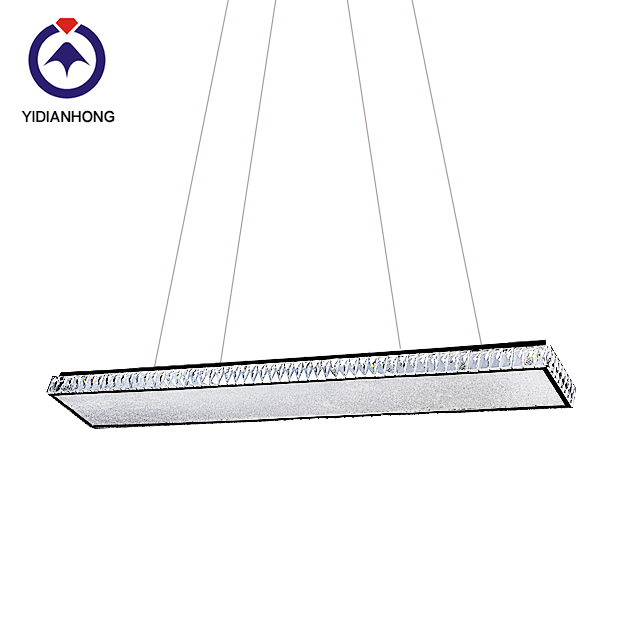 LED Rectangular chandelier light