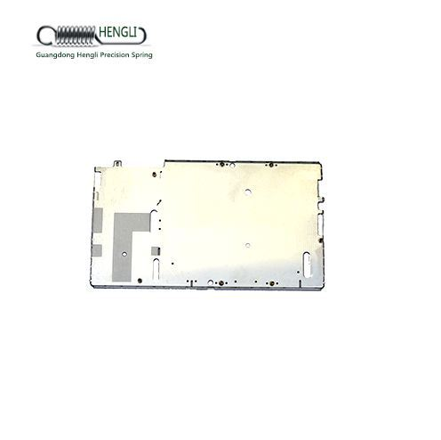 Custom precision metal sheet stamping used in mobile phone a