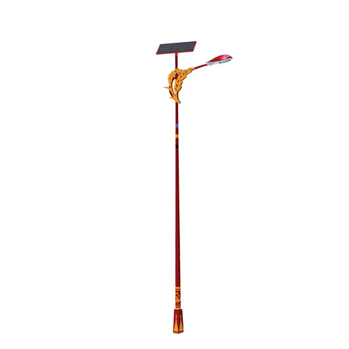 Solar Ethnic Custom Street Light
