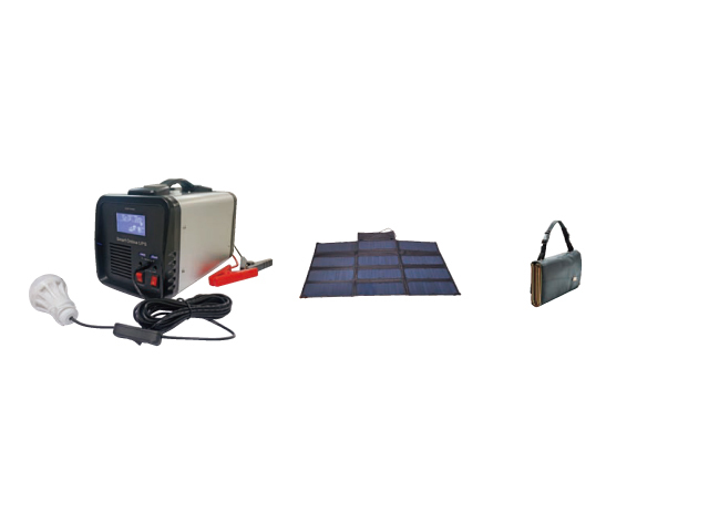 Small Generator Portable Solar Power Supply System for Outdo