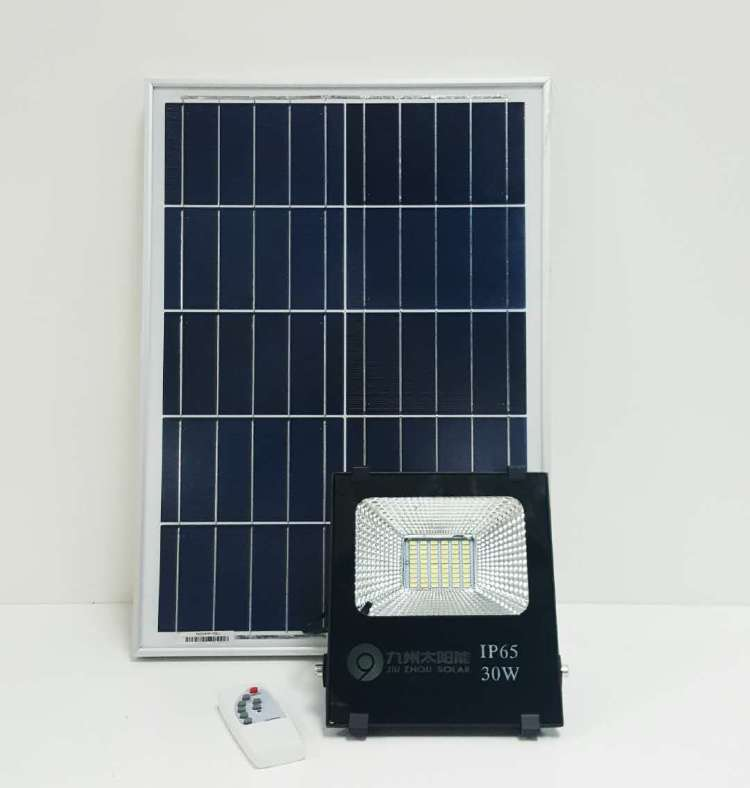 30W Outdoor Light Solar Induction Light Floodlight