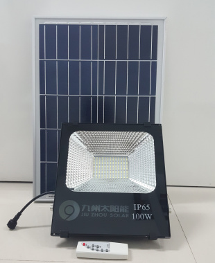 100W Solar Photosensitive Induction Spotlight Solar Floodlig