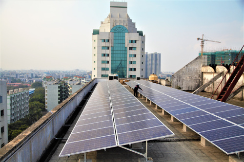 Commercial Solar Power System--Torch Building