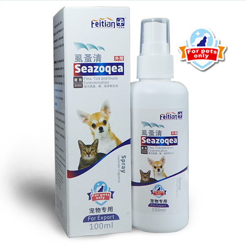 Flea & Tick Control for Dogs and Cats Spray