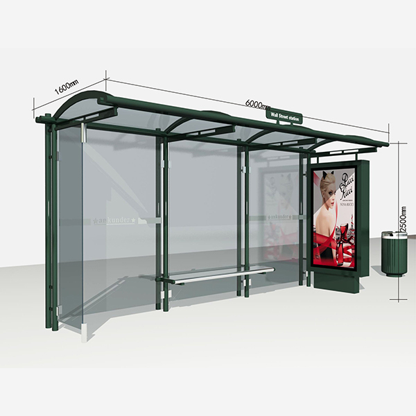 Bus Stop Shelter 003