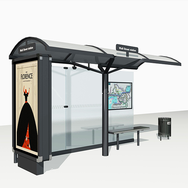 Bus Stop Shelter 006