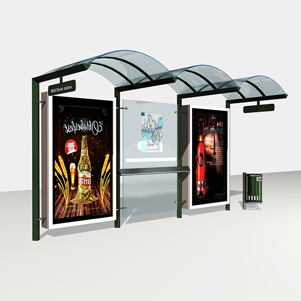 Bus Stop Shelter  008