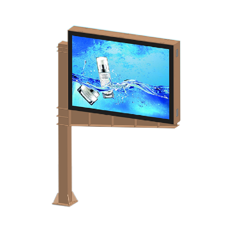 Scrolling outdoor advertising billboard light box 019