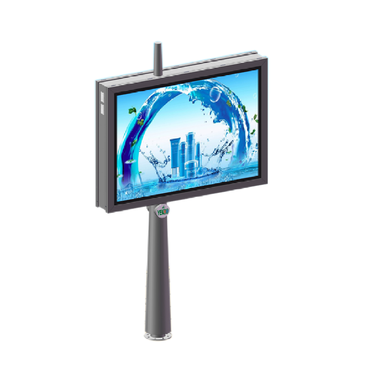 Scrolling outdoor advertising billboard light box 016