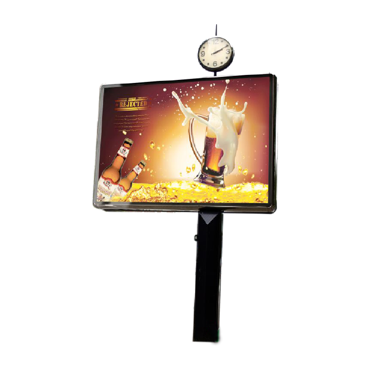 Scrolling outdoor advertising billboard light box 012