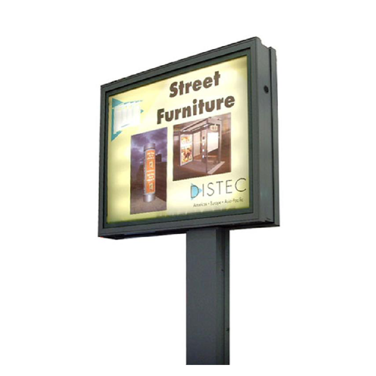 Scrolling outdoor advertising billboard light box 010