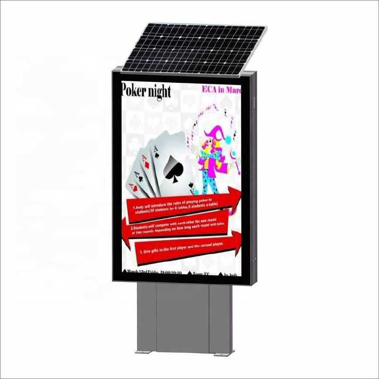 Outside Advertising Poster Frame Structure posters Rotating