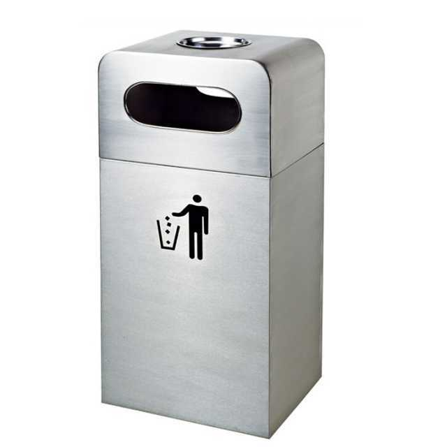 Garbage can special for environment-friendly hotels H009