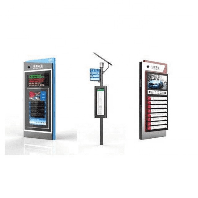 Customized smart solar bus stop electronic sign board B004