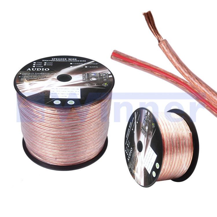 Speaker wire,Transparent Speaker Wire,Home Theater, TV