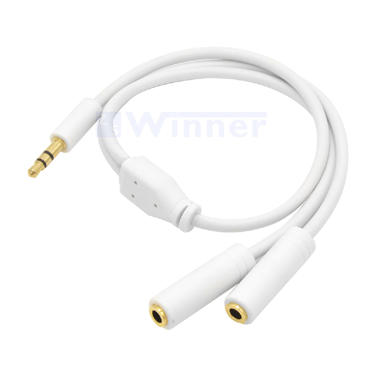 3.5mm stereo,3.5mm Extension Cable,audio Y Splitter cable