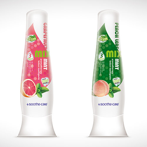 Soothe&care aromatherapy lotion fruit flavored toothpaste