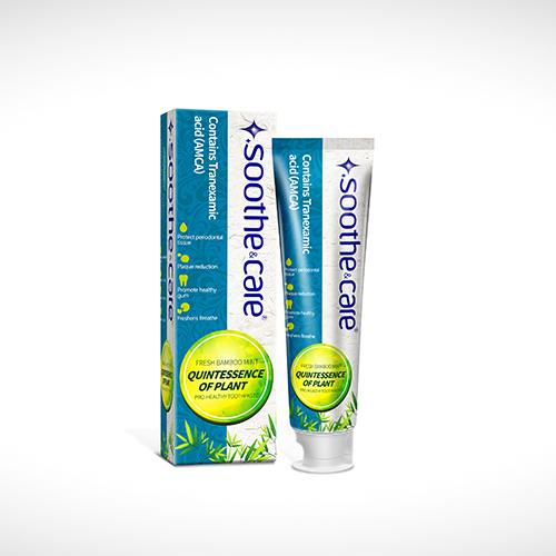 Soothe&care herbal whitening toothpaste