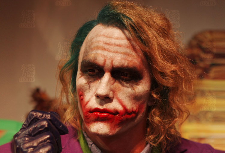 Famous Movie Character Joker in Wax Statue Making