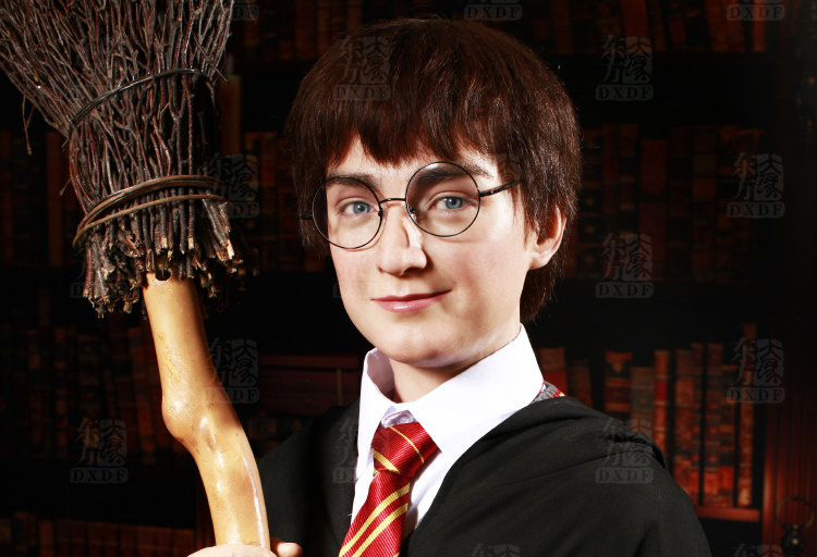 Celebrity Wax Figures of Movie Character Harry Potter