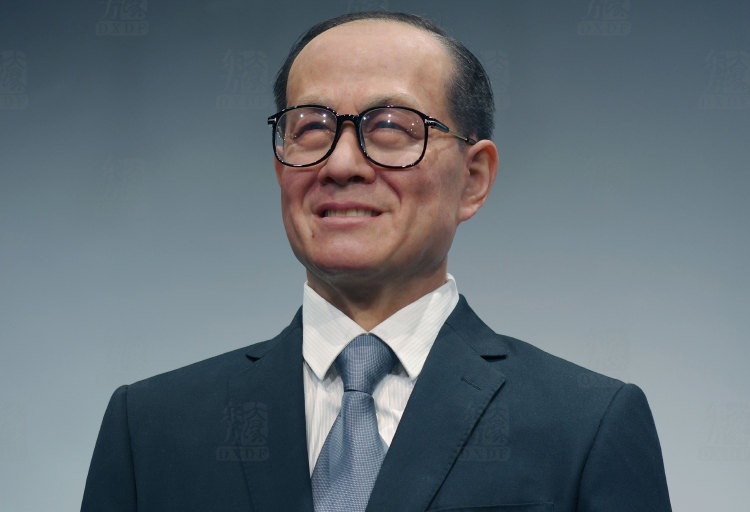 Famous Wax People of Elite Li Ka Shing