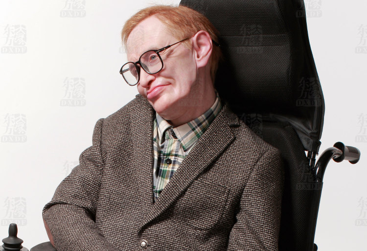 Historical Wax Figures of Stephen Hawking