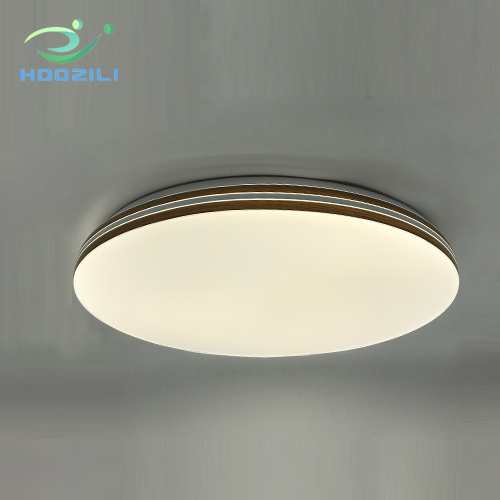 Led round ceiling lighting with simple design