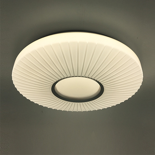 led round 3D pattern ceiling light