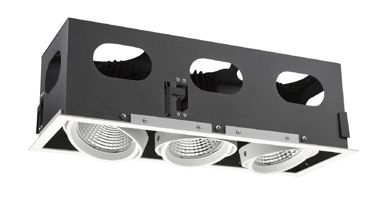 BH LED Grille Downlight 3x30W 3x35W 3x45W