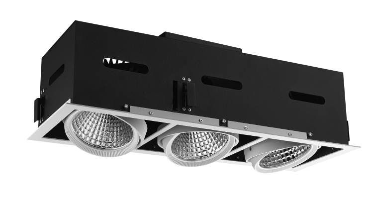 LED Grille Downlight 3x30W 3x35W 3x45W