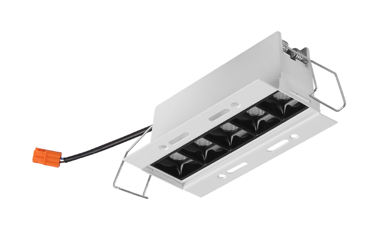 Frameless Linear LED Downlight 5x2W