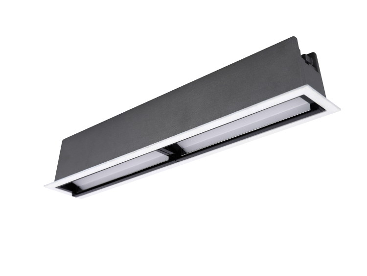 Asymmetric Linear LED Downlight 10x2W