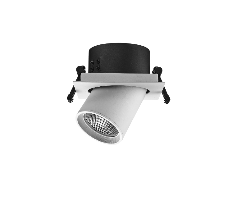 Recessed LED spotlight 1x20W 1x25W