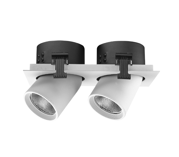 Recessed LED spotlight 2x20W 2x25W