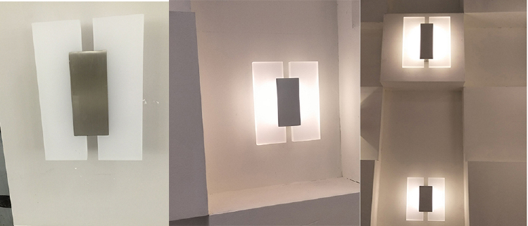 Contemporary Acrylic LED Wall Lights / Wall Sconce Lighting ...