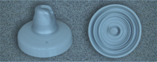 550kN DC suspension porcelain insulator XZP-550 (U550B)