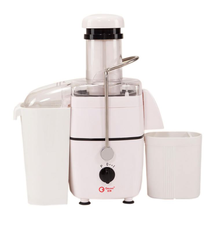 450W Home Use Wide Feed Tube Plastic Fruit Juicer