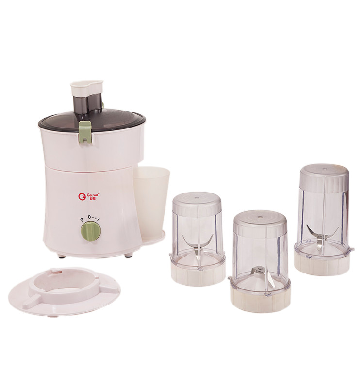 4 in 1 Portable Hot Sale Juice Extractor Blender Mincer Mill