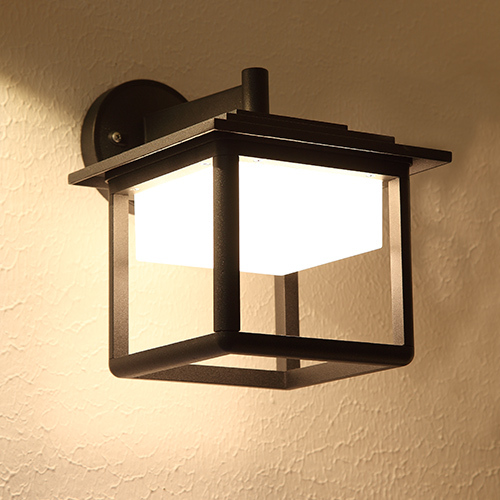 Modern Outdoor Led Decorative Wall Light 9w Aluminium