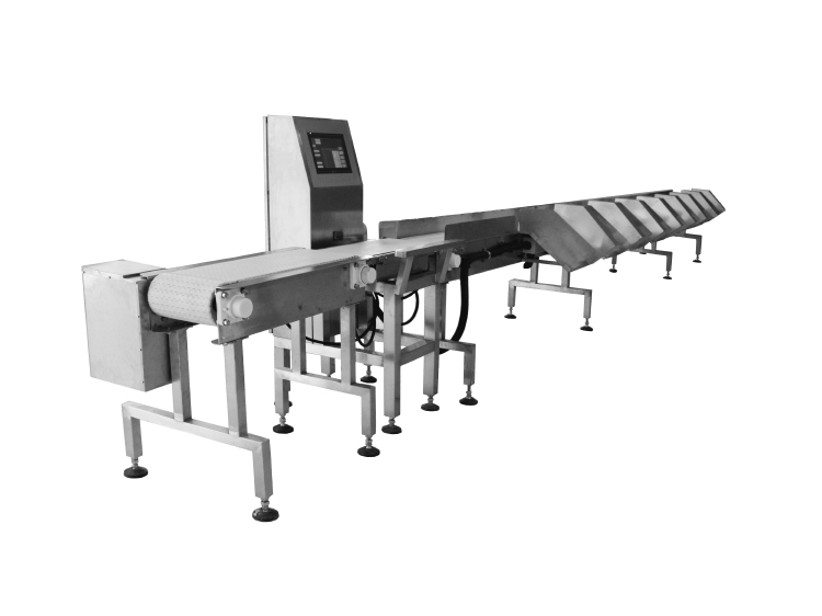 Conveyor Weight sorting machine,suitable for marine product,