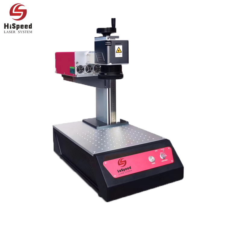 HispeedLaser  New Model 1.5 watt uv Laser Marking Machine